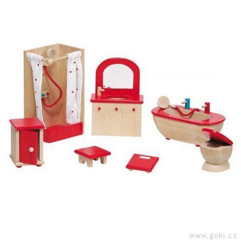 Nábytek propanenky – koupelna STYLOVÁ, 7dílů - Goki