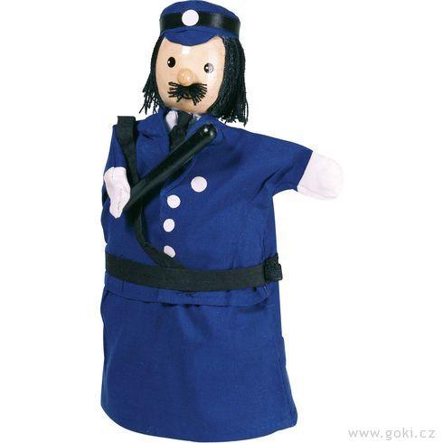 Maňásek naruku – policista - Goki