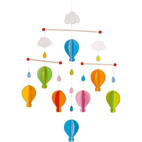 Dřevěný závěsný kolotoč –Horkovzdušný balon - Goki