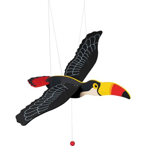Tukan – létající závěsná dekorace - Goki