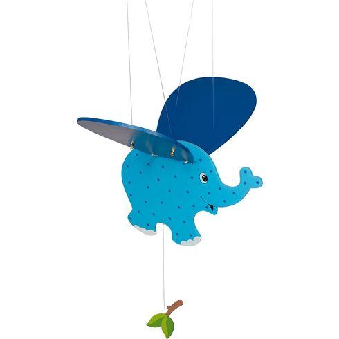 Modré slůně – létající závěsná dekorace - Goki