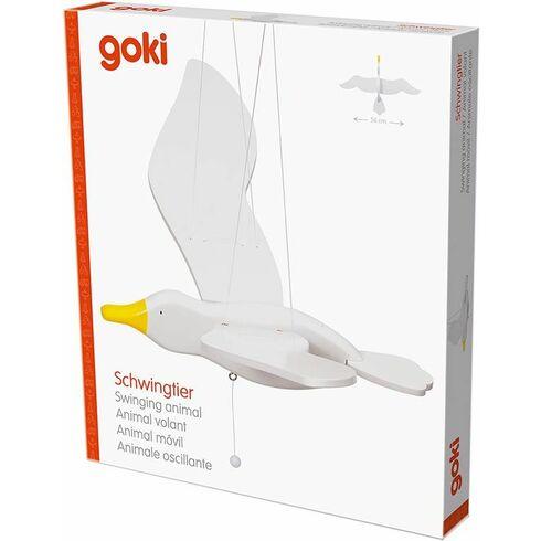 Racek – létající závěsná dekorace - Goki