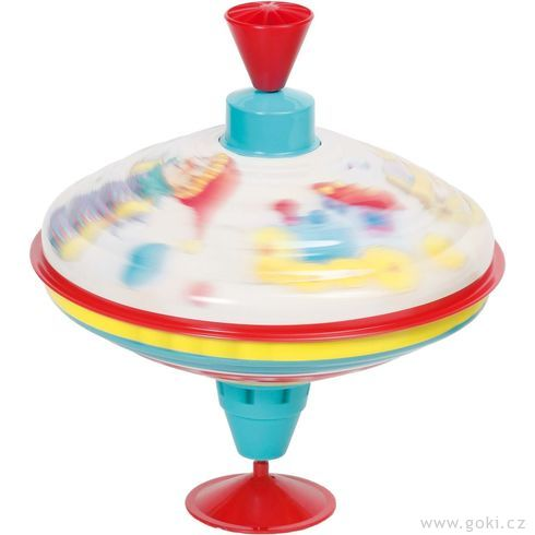 Hrající káča hračky – 18,5 cm - Goki