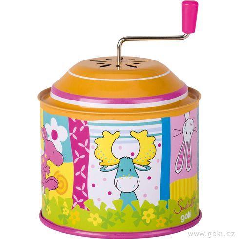 Hrací skříňka skličkou Susibelle - Goki