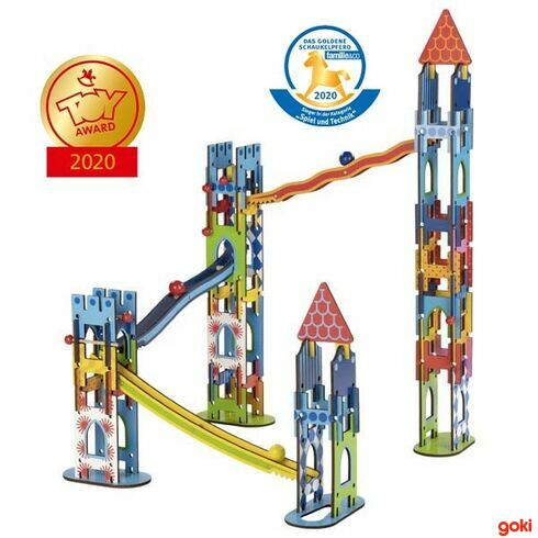 Kuličková dráha – rytířský hrad, 79dílů - Goki