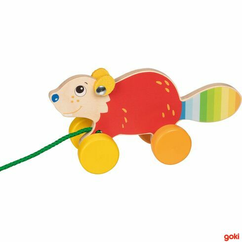 Bobr –zvířátko našňůrce - Goki
