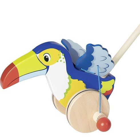 Tukan – zvířátko natyči - Goki