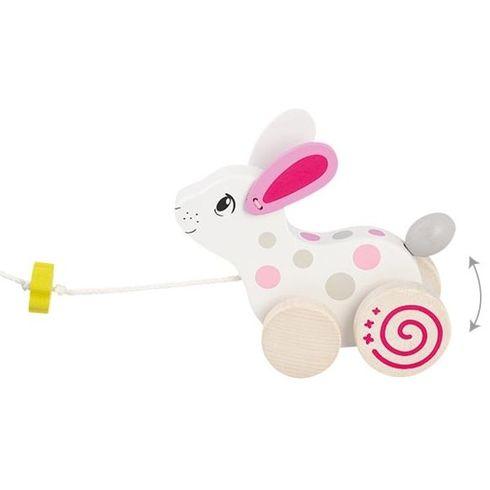 Bílý králíček – hračka naprovázku - Goki