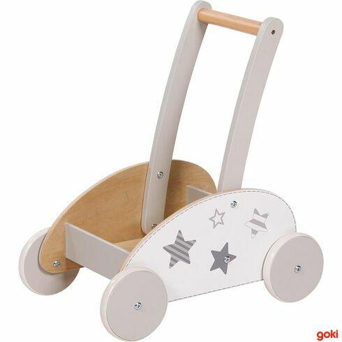 Dřevěný vozík - Goki