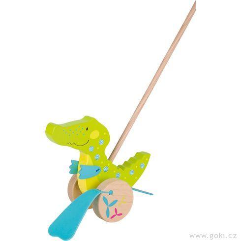 Krokodýl Susibelle – zvířátko natyči - Goki