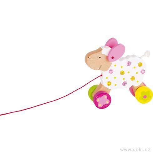 Tahací hračka ovečka Zuzka - Goki