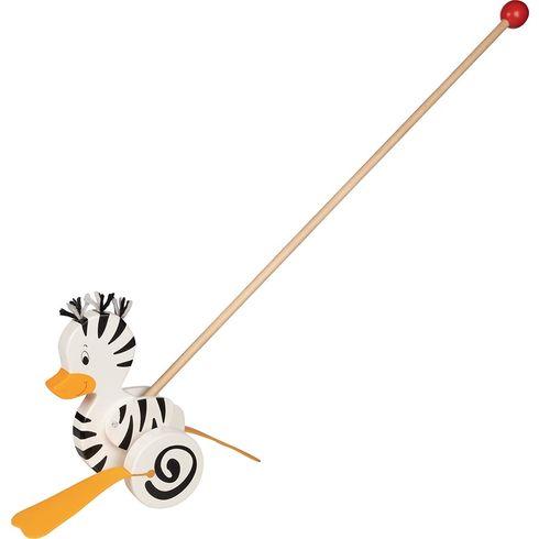 Zebří kačenka – tahací zvířátko natyči - Goki
