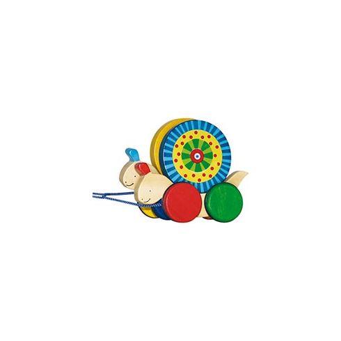 Dřevěná tahací hračka – Šneci - Goki
