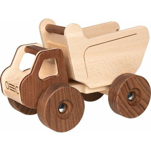 Vyklápěcí autíčko, přírodní dřevo Goki nature - Goki