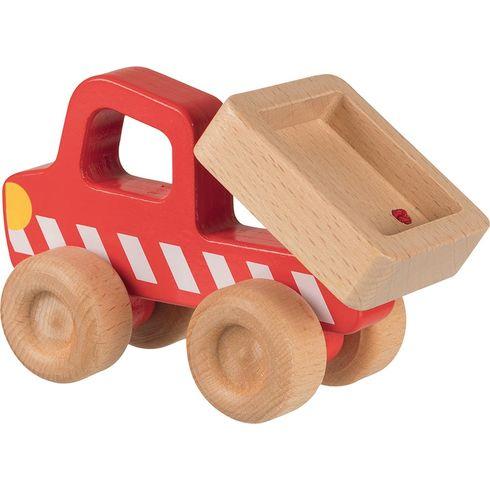 Autíčko sesklápěcí korbou – dřevěné autíčko pronejmenší - Goki