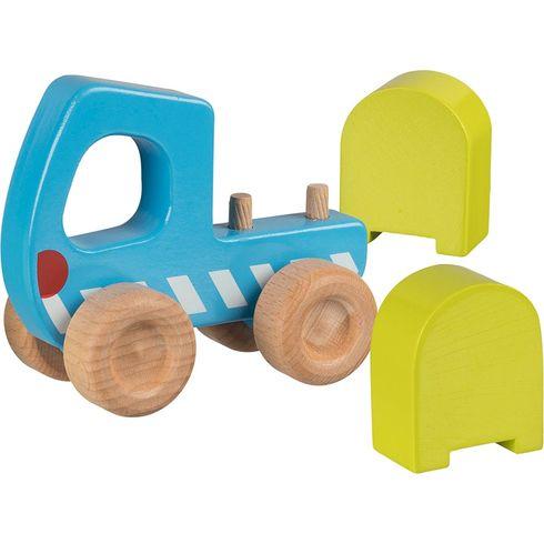 Náklaďák – dřevěné autíčko pronejmenší - Goki