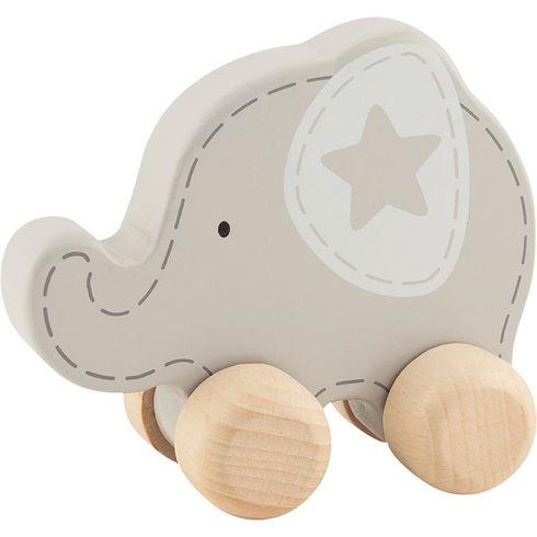 Slon shvězdičkou – hračka doruky - Goki