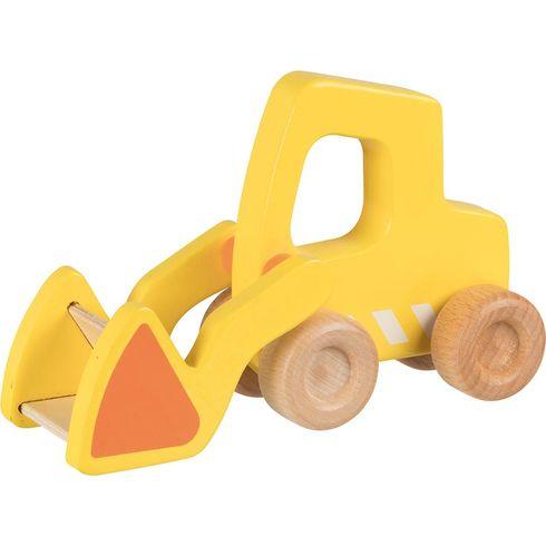 Bagr – dřevěné autíčko pronejmenší - Goki