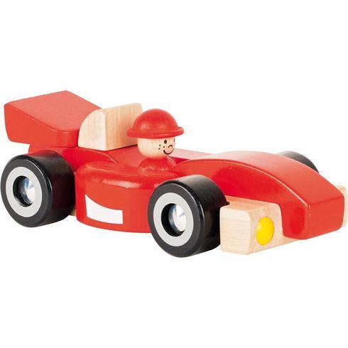 Červená závodnička zedřeva - Goki