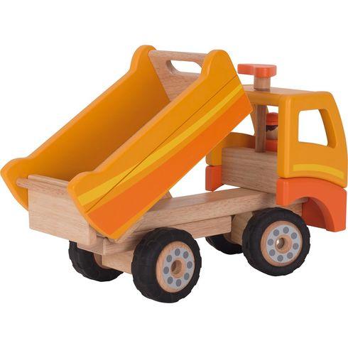 Oranžové velké nákladní auto - Goki