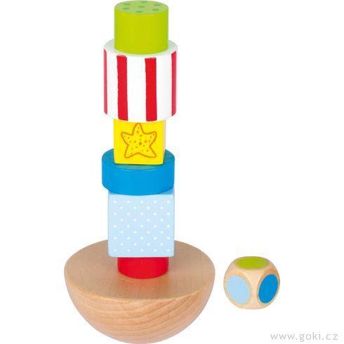 Balanční věž vichřice - Goki