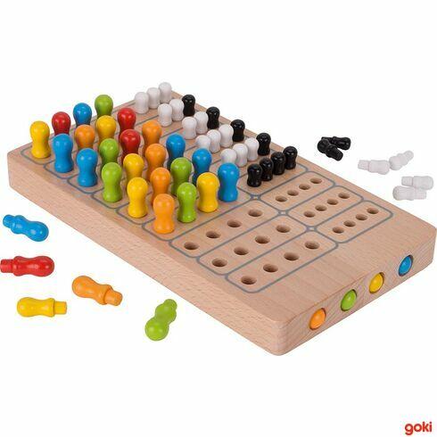 Logická hraLogik zedřeva - Goki