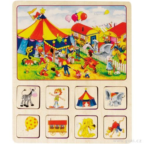 Dobrodružná didaktická hra– Farma, cirkus... - Goki