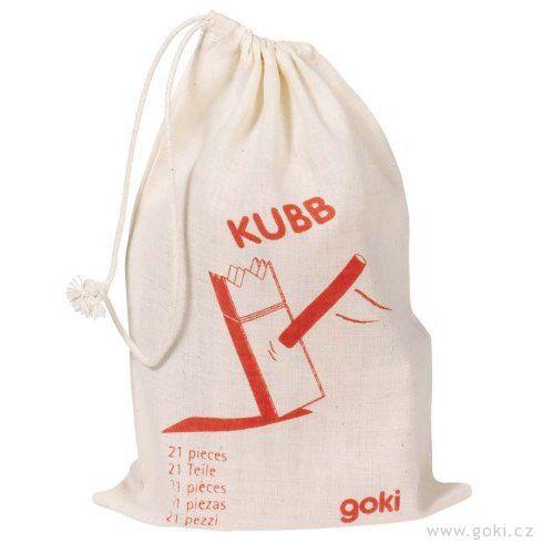 KUBB – Vikingské šachy, mini - Goki