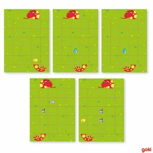 Magnetická hra–Hladový had - Goki