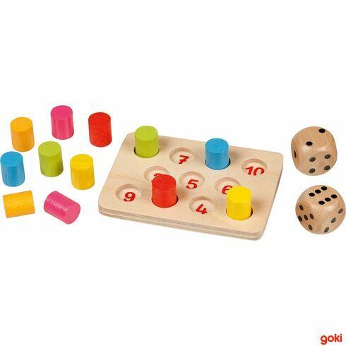 Mini –Shut thebox, 15dílů - Goki