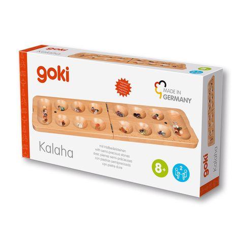 Strategická hraKalaha – skládací hrací pole - Goki