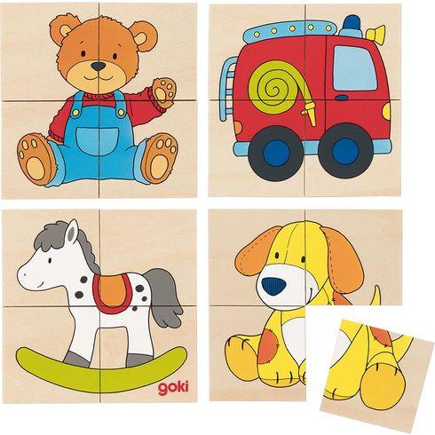 Puzzle apexeso – Hračky, 24dílů - Goki