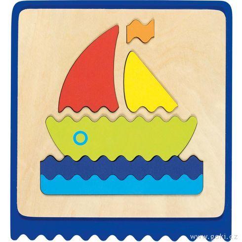 Hmatová hrapuzzle – didaktická pomůcka - Goki
