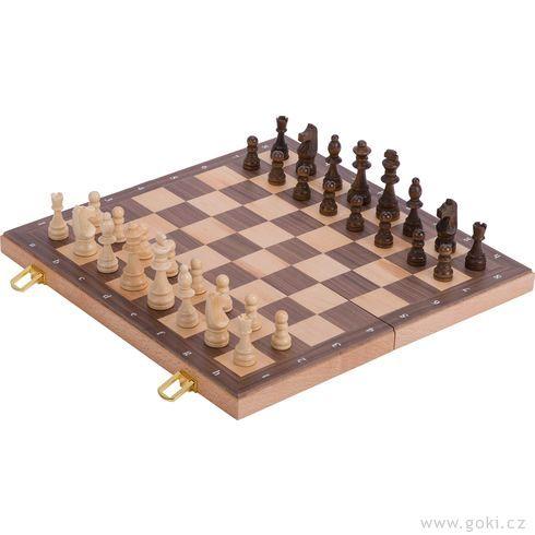 Logická hrašachy velké – 38x38cm - Goki