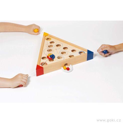 Stolní hra– Tricours - Goki