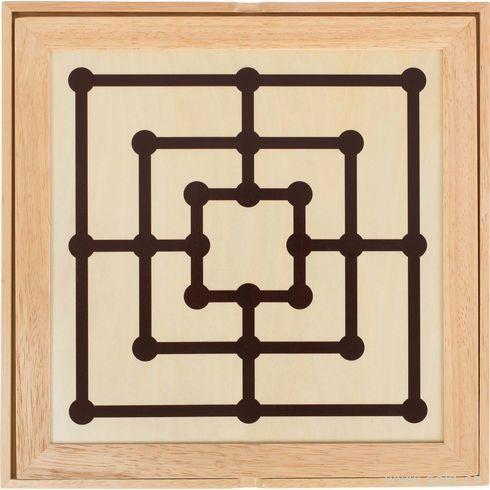 Stolní hra3 v1– šachy, dáma, mlýn  - Goki