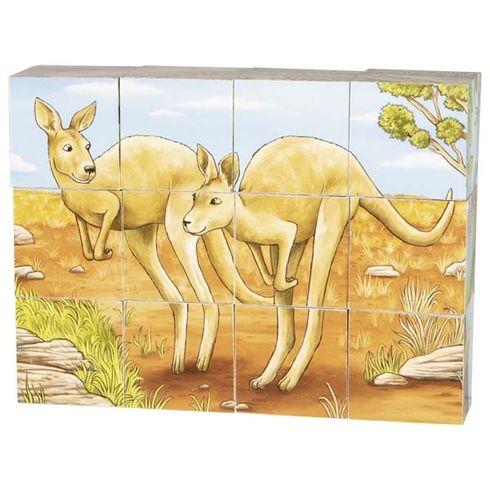 Kostky sobrázkem – Australská zvířátka - Goki