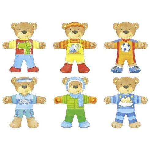Šatní skříň – malý medvídek - Goki