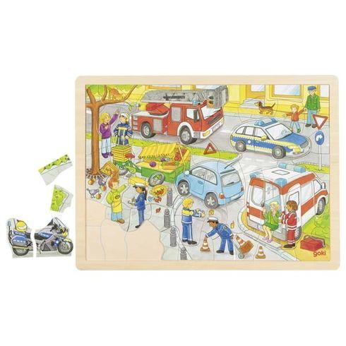 Puzzle – policejní zásah, 56dílů - Goki