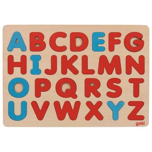 Puzzle abeceda Montessori, 26dílů - Goki