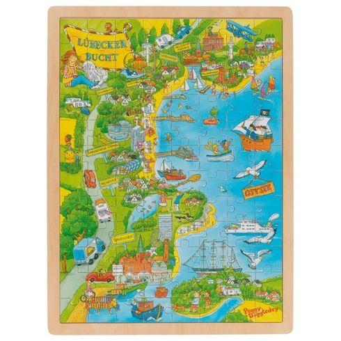 Peggy vzátoce uLubeku, puzzle 96dílů - Goki