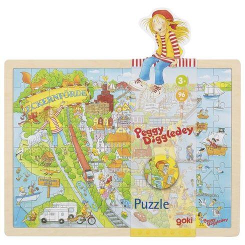 Peggy uBaltského moře, puzzle s96díly - Goki