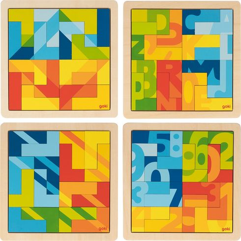 Puzzle vetvaru L,16dílů - Goki
