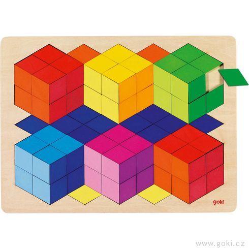 Puzzle nadesce s3Defektem, 86dílů - Goki