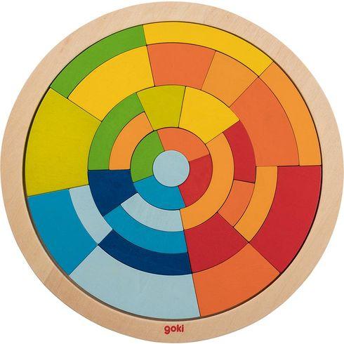 Puzzle nadesce – kruh, 31dílů - Goki