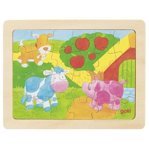 Puzzle – 1000 barviček, 24díly - Goki