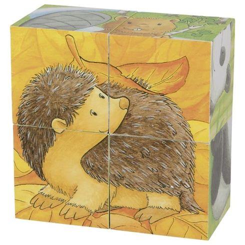 Kostky sobrázkem – Baby zvířátka - Goki