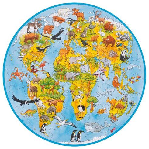XXLpuzzle svět, 49dílů - Goki