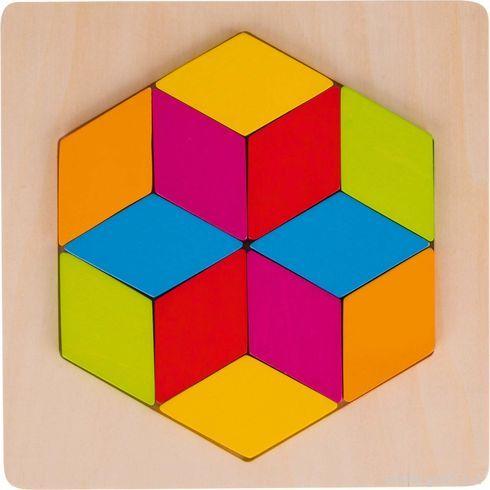 Puzzle – Šestiúhelník, 12dílů - Goki