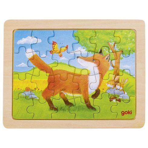 Minipuzzle – Zvířecí přátelé - Goki